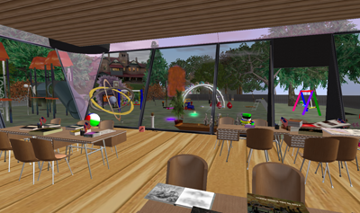 Second Life Classroom and Playground